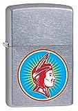 Zippo Lighter: Indian Logo - Street Chrome