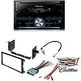 Pioneer FH-S500BT Double DIN Bluetooth In-Dash CD/AM/FM Car Stereo Receiver w/ Pandora CAR RADIO STEREO CD PLAYER DASH KIT BUICK CADILLAC CHEVROLET GMC HUMMER ISUZU OLDSMOBILE PONTIAC
