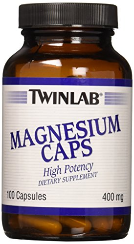 (TwinLab - Magnesium Caps, 400 mg, 100 Capsules)