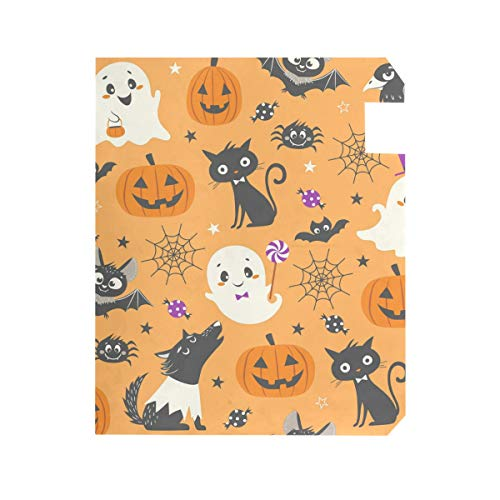 TaTaisu Large Size, Mailbox Covers and Wraps Magnetic Mail Box Cover Vinyl Custom Home Garden Decor Happy Halloween Pumpkin Wolf -