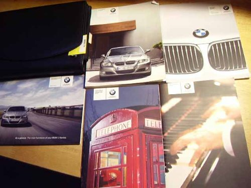Bmw 3 Series Owners Manual - 2010 BMW 3 series 323i 328i 335i and xdrive Owners Manual