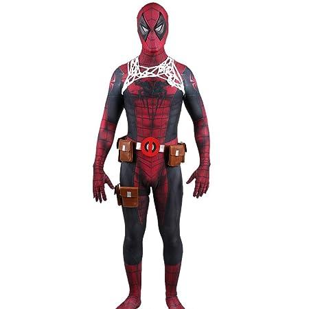 FHTD Disfraz de Disfraz de Spider Deadpool, Disfraz de Cosplay de ...
