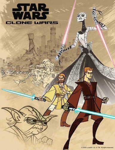 (Star Wars: Clone Wars POSTER Movie (27 x 40 Inches - 69cm x 102cm) (2003) (Style B) )