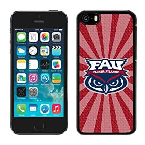 Cool Design Case for Iphone 5c Ncaa Conference USA Florida Atlantic Owls 9 Perfect Phone Deals Accessories