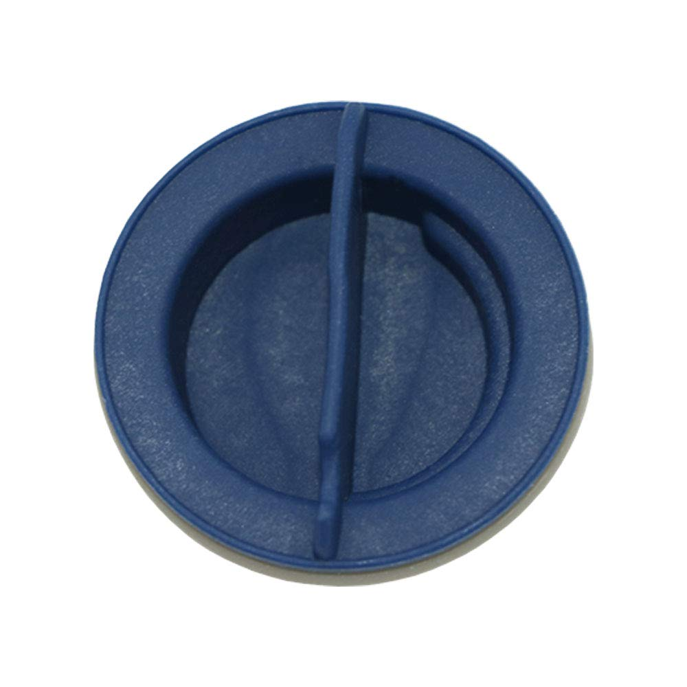WPW10077881 Dishwasher Rinse Aid Dispenser Cap Replacement Part by AMI PARTS – Compatible with KitchenAid &Whirlpool Dishwashers - Replaces W10077881,KUDC03FVBL5,KUDC03FVSS5