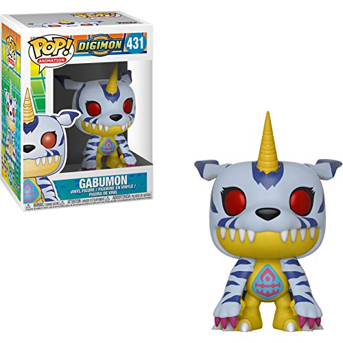 (Funko Gabumon: Digimon x POP! Animation Vinyl Figure + 1 Anime Themed Trading Card Bundle [#431 / 32824])