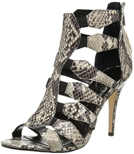 Ivanka Trump Marjory 2 Embossed Open-Toe Gladiator Sandals