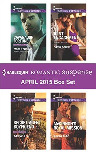 book cover of Harlequin Romantic Suspense April 2015 Box Set