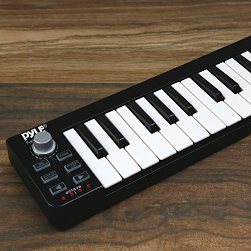 Midi Keyboard Workstation : pyle usb midi keyboard controller 25 key portable audio recording workstation equipment ~ Russianpoet.info Haus und Dekorationen