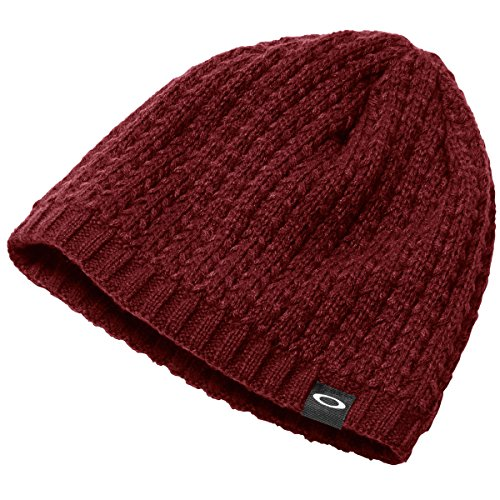 Oakley Men's Haynes Beanie, One Size, Fired Brick