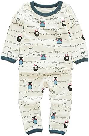 Baby Clothes Sets Cartoon Cotton Clothing Set T-shirts+Home Pants