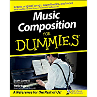 Music Composition For Dummies book cover