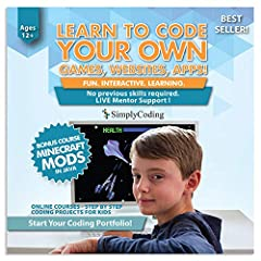 Learn computer programming through our 10 course coding pathway! Do your kids love Xbox, Nintendo, Minecraft or Playstation? Our pathway is built to turn gamers into coders. Don't consume it! Create it!  Few careers are more in demand than th...