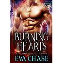 Burning Hearts: Alpha Project Psychic Romance Prequel Novella