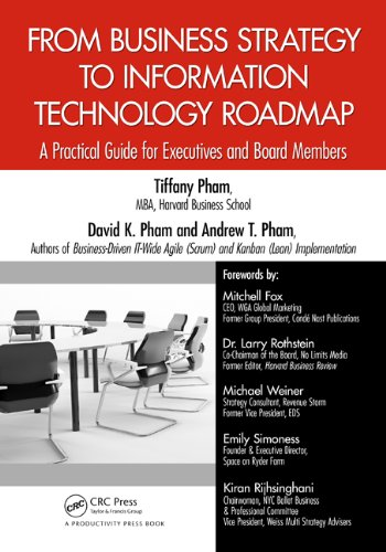 Download From Business Strategy to Information Technology Roadmap: A Practical Guide for Executives and Board Members Pdf