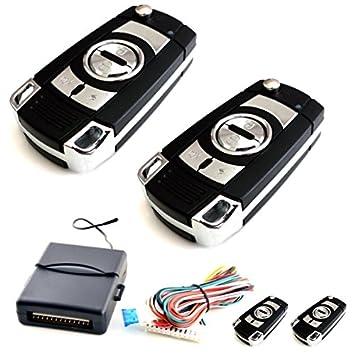 100F13 - Sistema remoto de coches Cierre centralizado de bloqueo sin llave con los reguladores alejados: Amazon.es: Coche y moto
