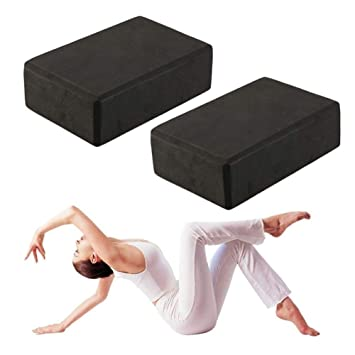 LISHUAISHUAI Bloques De Ejercicio De Espuma De Yoga (Paquete ...