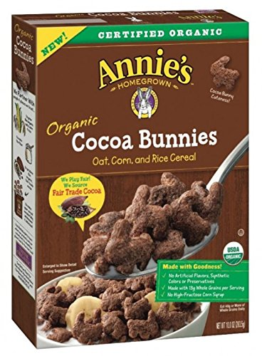 - Annie's Organic Cocoa Bunnies Cereal ( 2 Pack)