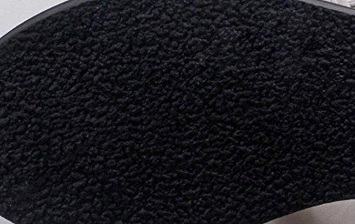 Omiky® Frauen flache Schuhe Bandage Bohemia Freizeit Lady Sandalen Peep-Toe Outdoor Schuhe Schwarz