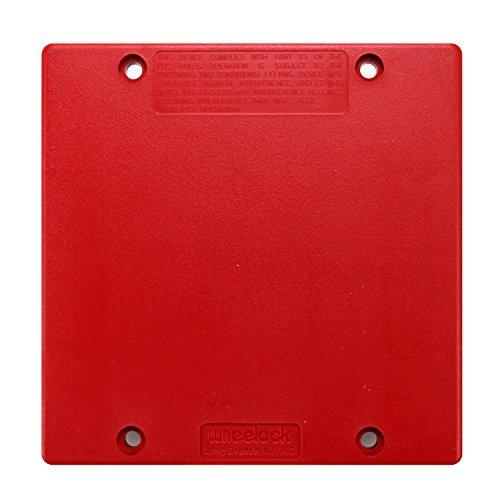 (Cooper Wheelock SM-12/24-R Sync Module 12/24 VDC FWR Fire Alarm Sync Module, Red by Wheelock)