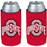 NCAA 2013 College Ultra Slim Beer Can Holder Cooler 2-Pack