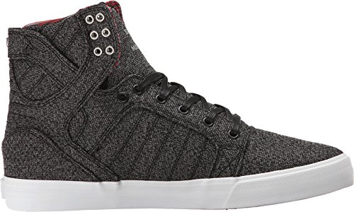 10 white Heather Supra Shoe Regular US Skytop Black Microchip White SSpPIfq