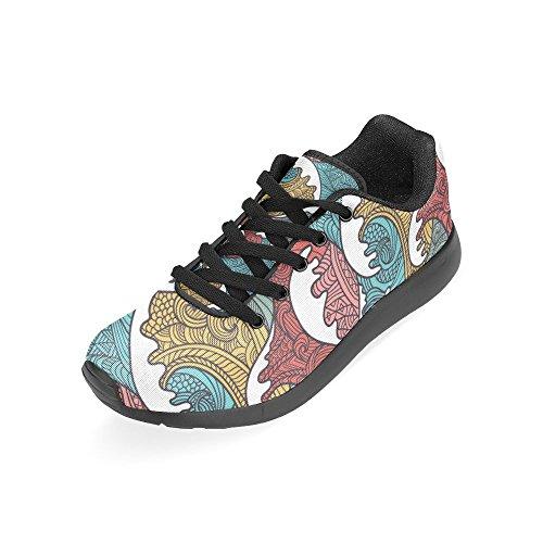 Zapatillas Negro Zenzzle Negro Para de Lona Running de Mujer TrgwZgx8dq