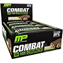 12-Pk. MusclePharm Combat Crunch Multi-Layered Baked Protein Bar