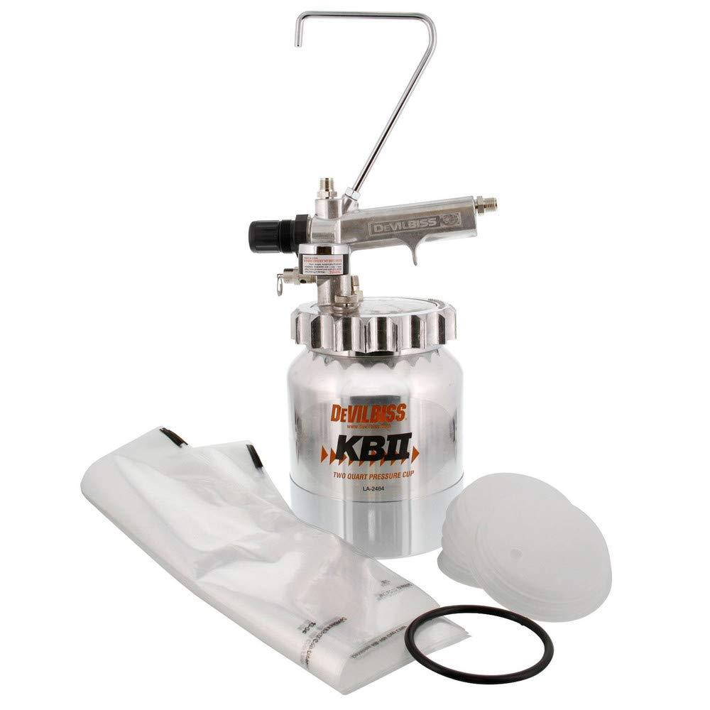 DeVilbiss KB555 Pressure Cup - 2 Quart Capacity