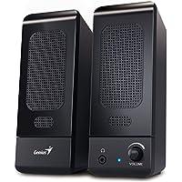Desktop Speaker Set U120 / Compact Multimedia 2.0 Speakers for PC , Mac, Computer, Laptop / iCHOOSE