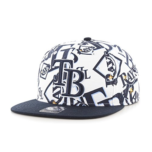 MLB Tampa Bay Rays Bravado Captain Adjustable Snapback Hat,