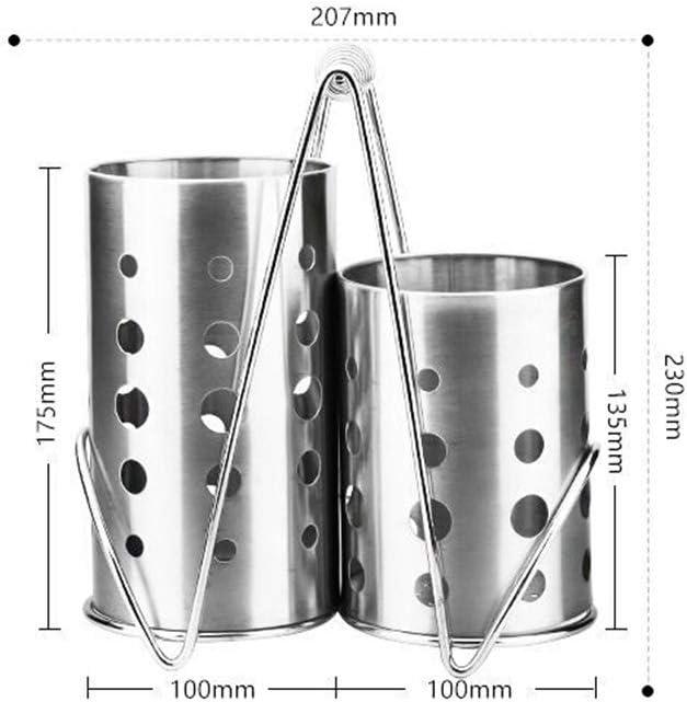 Estanter/ía de 3 estantes de acero inoxidable para cocina 80 x 80 x 40 cm