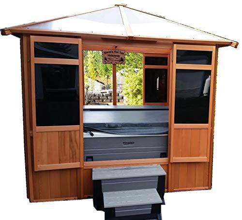 (Westview Solarus Hut Cedar Spa Gazebo)