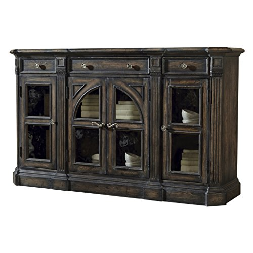 Pulaski Delmar Sideboard (Pulaski Glass Table)