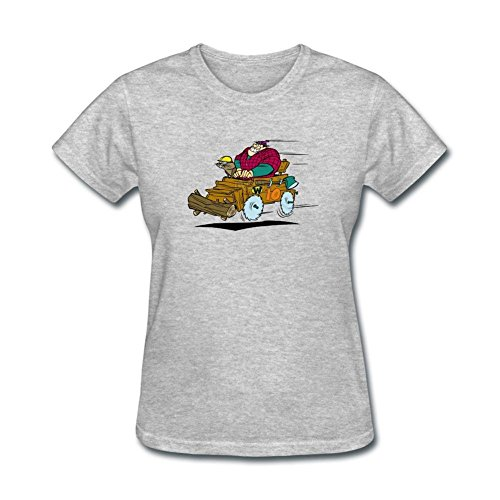 DanielRauda Women's Wacky Races Short Sleeve T Shirt Grey