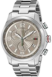 "Gucci Men's YA126248 ""Gucci G-Timeless"" Stainless Steel Watch"