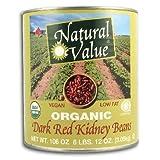 Natural Value Bean Kidney Drk Org
