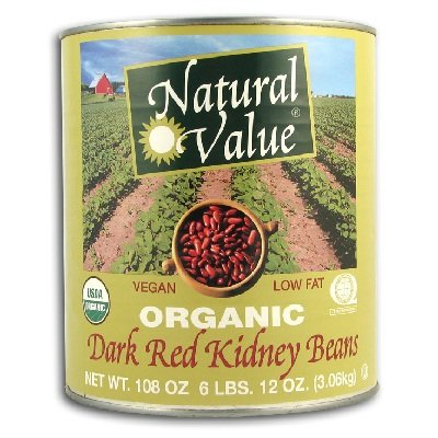 Natural Value Bean Kidney Drk Org by Natural Value