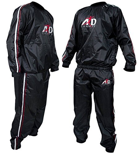 Heavy Duty ARD Sweat Suit Sauna Exercise Gym Suit Fitness Weight Loss Anti-Rip Small to 8XL