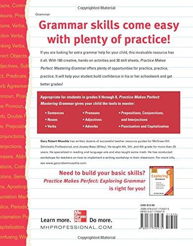 Amazon.com: Practice Makes Perfect Mastering Grammar (Practice ...