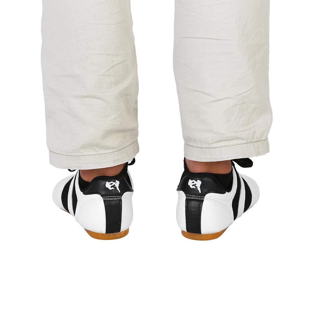 Chaussures de Taekwondo Unisexe Chaussures de Boxe Karat/é Chaussures de Sport Kung Fu Taichi pour Adultes et Enfants