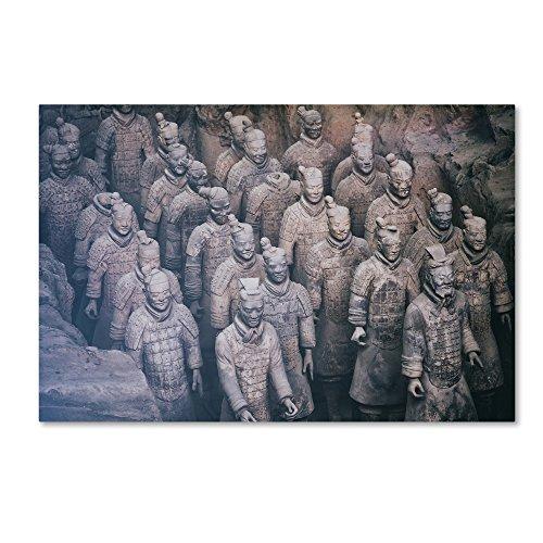 Terracotta Army I by Philippe Hugonnard, 30x47-Inch Canvas Wall Art ()