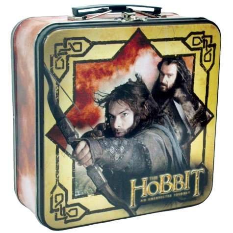 The Hobbit Kili The Dwarf Tin Tote – Lunch Box – LOTR