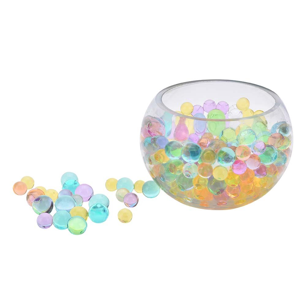 Ioffersuper Water Beads - Water Gel Bead Growing Balls for Wedding and Party Plant Decoration 12 Pack 12 Colors