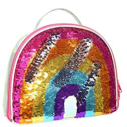 Reversible Sequin Insulated Mermaid Lunch Bag