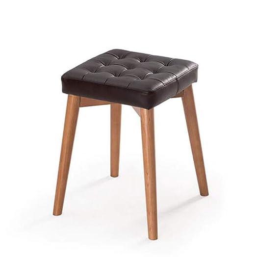 Wood Sofá Taburete Taburete Apilable Creativo Moda Vestir Taburete ...