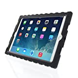 iPad Air 2 - Shockdrop Poptop with Stand - Rugged Case - Black - Black