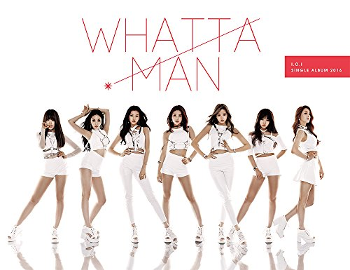 (Stone Music Entertainment I.O.I IOI - Whatta Man (1st Single Album) [Reissue] CD+Booklet+Photocard+Reissue ver. Folded Poster)