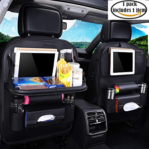 Car Seat Protector Backseat Organizer Table Tray For