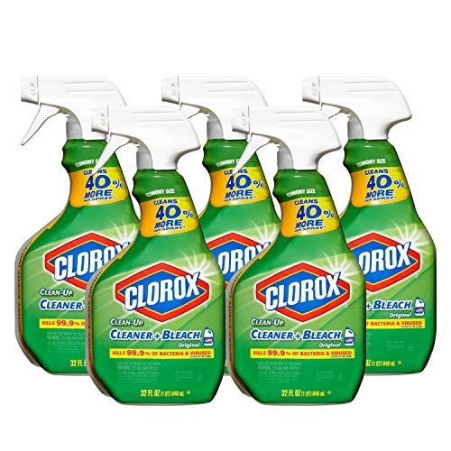 Clorox Clean-Up with Bleach 32 fl oz Trigger Spray Bottle (Pack of 5)